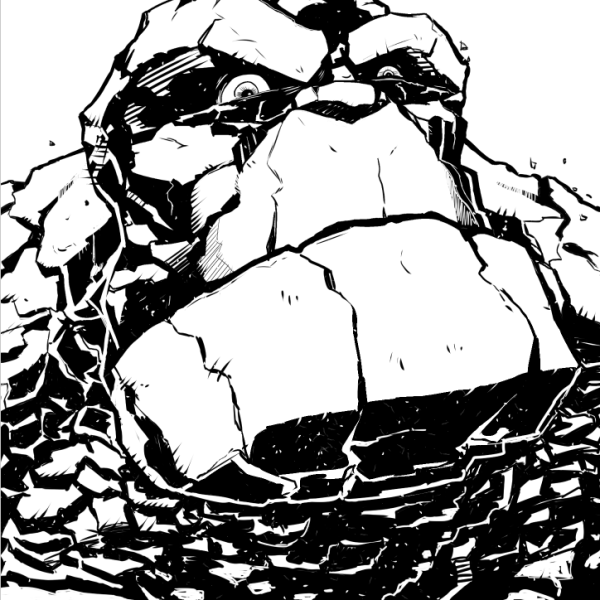 This was my first attempt at inking in Manga Studios.