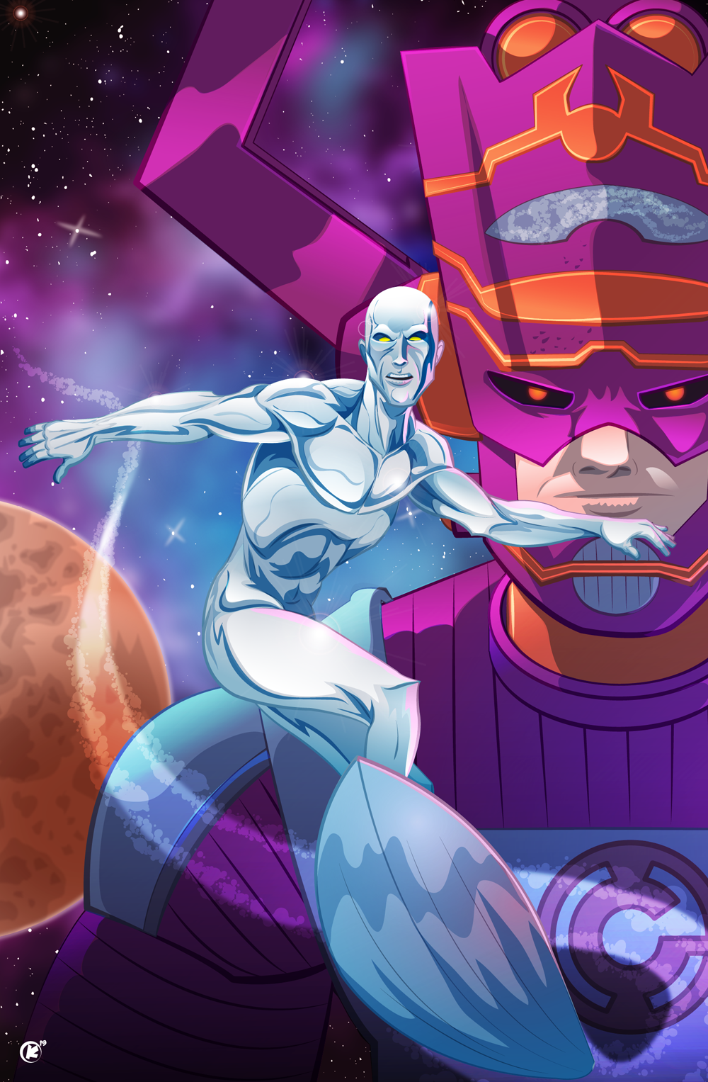 Silver Surfer the heard of Galactus